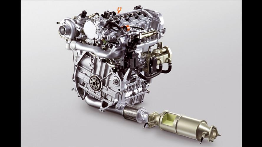 Honda-Dieselmotor mit Schadstoffausstoß wie ein Benziner