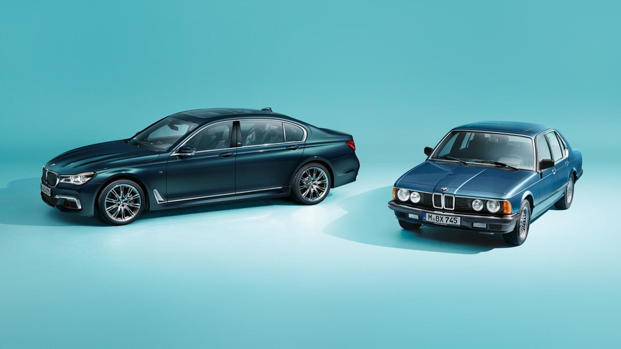BMW 7 Series Edition 40 Jahre Marks Four Decades Of Flagship