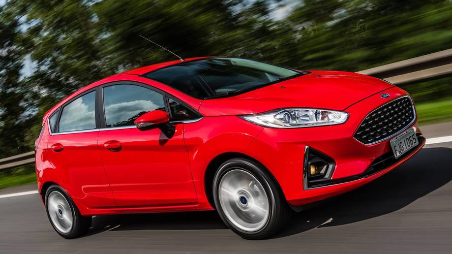 Teste Instrumentado Ford Fiesta Titanium 2018 - Referência anterior