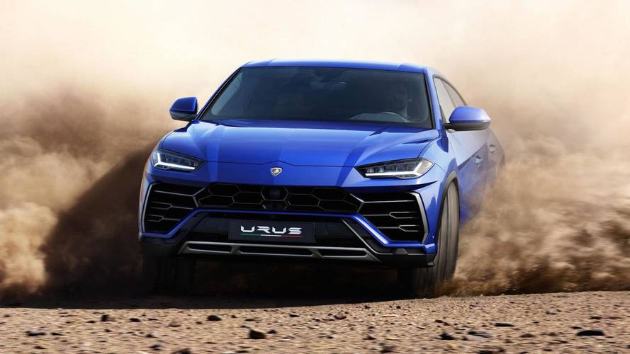 Lamborghini Urus finally revealed