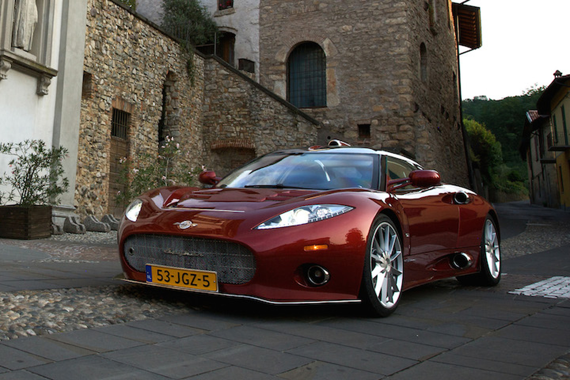 Spyker Confirms New C8 Aileron, SUV