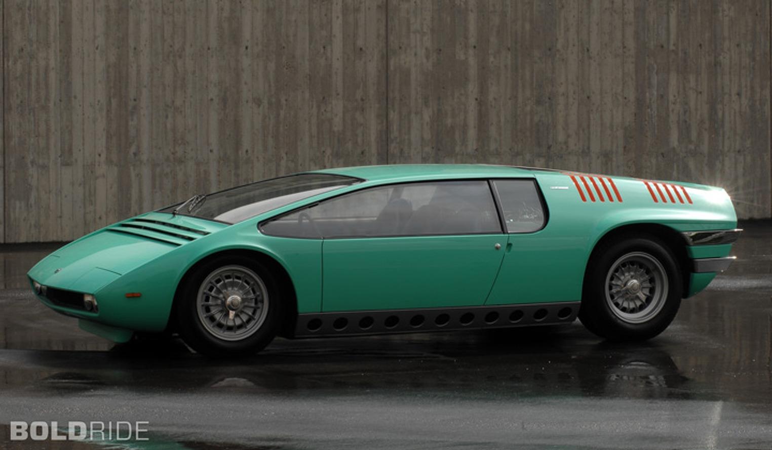 Bold Concept: 1968 Italdesign Bizzarrini Manta