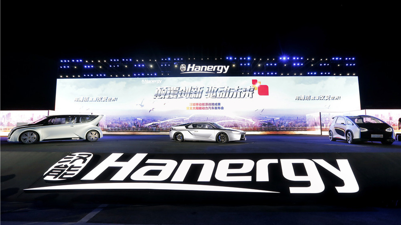 Hanergy launches full solar power vehicles