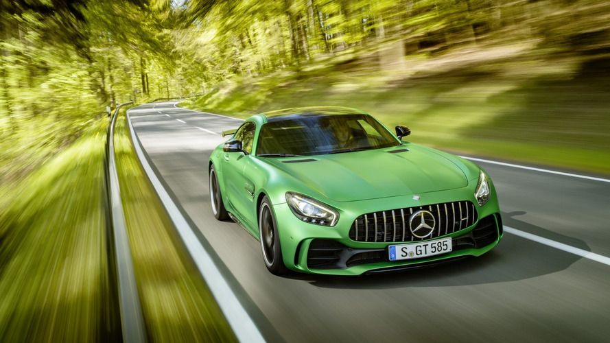 Mercedes-AMG GT R breaks cover with 577 hp