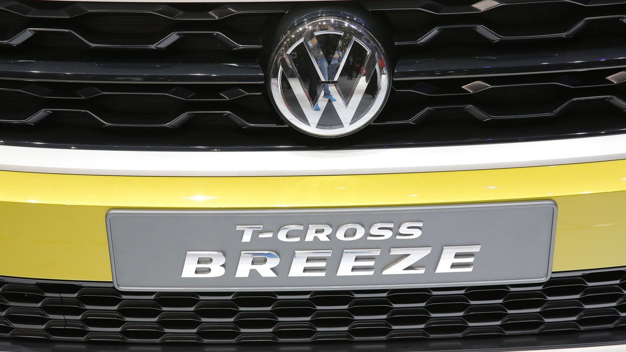 VW T-Cross Concept live in Geneva