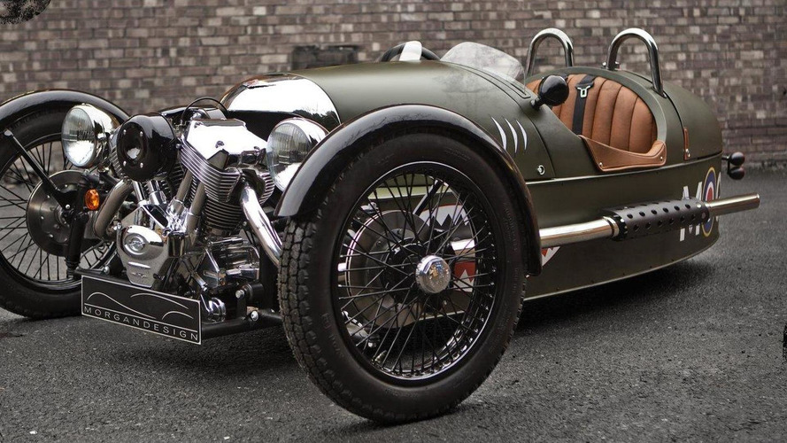 Morgan repotedly considering an electric Three Wheeler