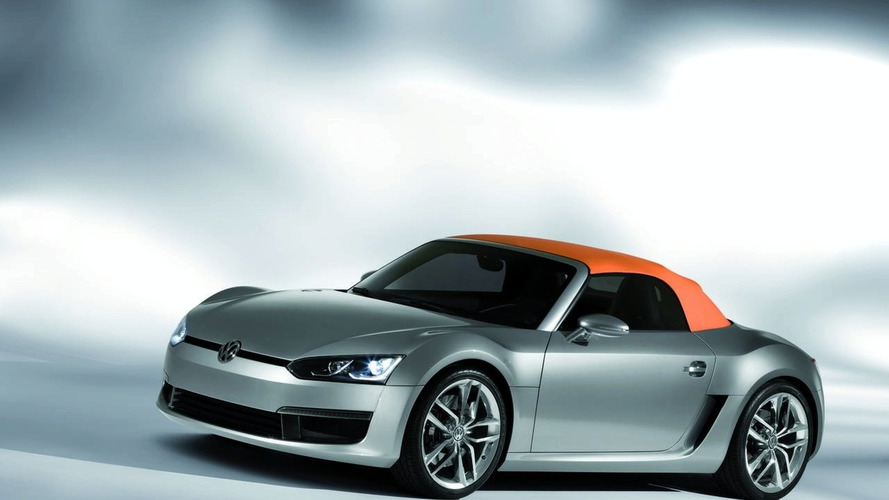VW Concept Blue Sports Breaks Cover