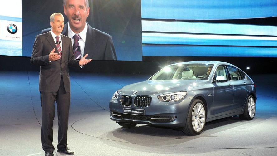 BMW 5 Series GT Live in Frankfurt [video]