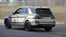 2012 Mercedes-Benz ML prototype spied, 17.03.2011