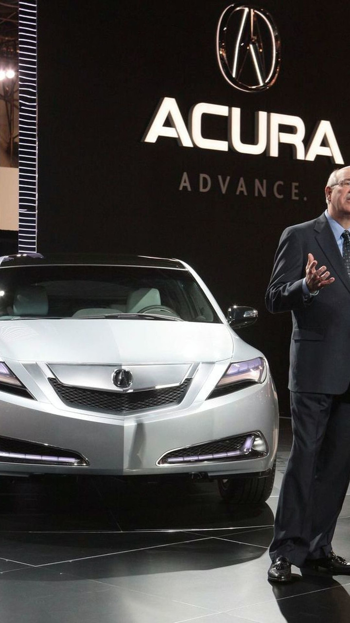 Acura ZDX Concept at New York Auto Show 2009