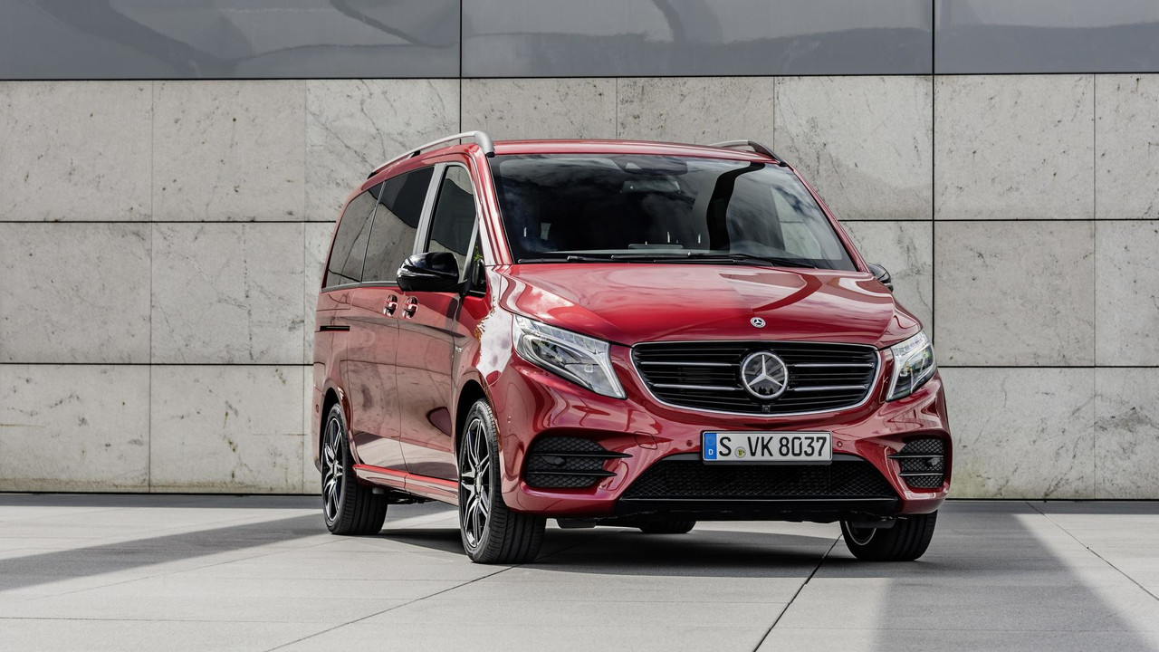 Mercedes v class limited and rise editions spice up the for Mercedes benz limited edition