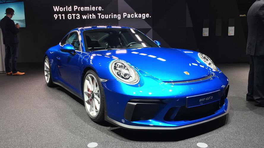 Porsche 911 GT3 Touring Pack 500 bg'le Almanya'yı selamladı