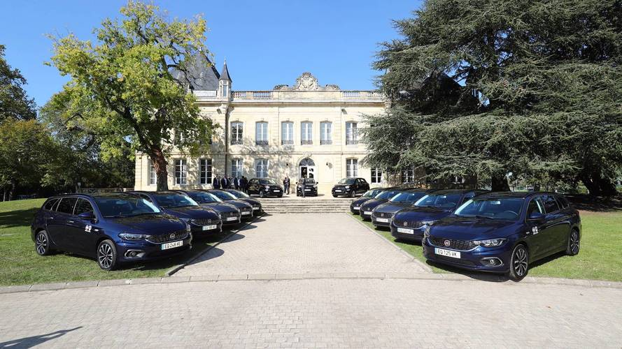 La Fiat Tipo roule pour les Girondins de Bordeaux