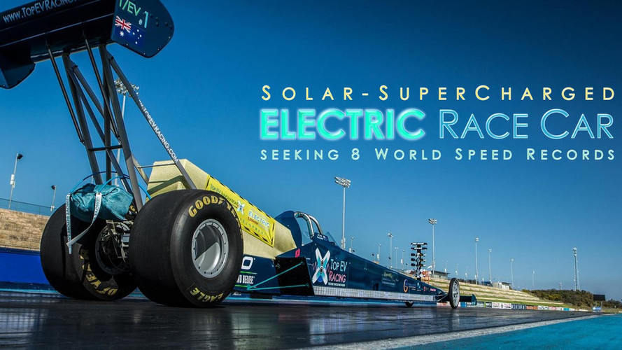Electric Dragster Boasts 1,000 Volts, 5,000 HP, 17,000 Lb-FT Of Torque