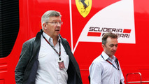 Ross Brawn with Paddy Lowe 25.07.2013 Hungarian Grand Prix