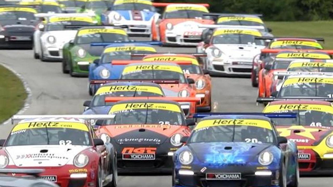 Porsche IMSA GT3 Cup Challenge from Road America 26.08.2013