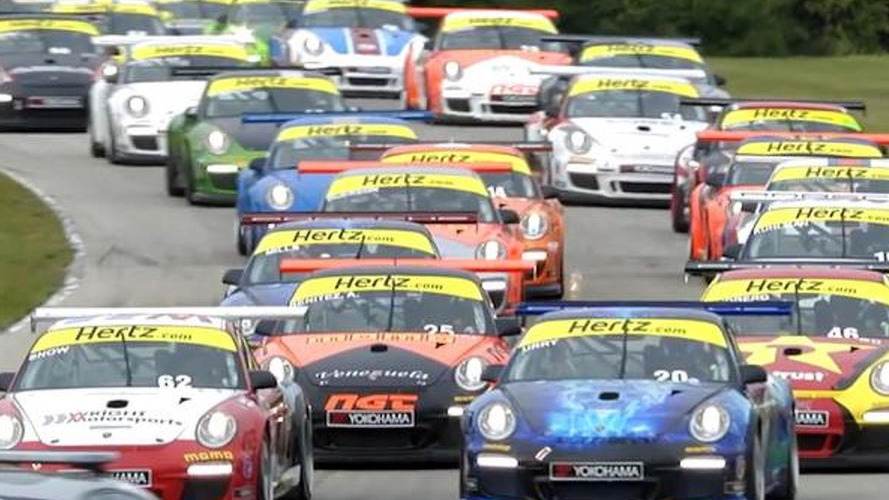 Porsche IMSA GT3 Cup Challenge from Road America [video]