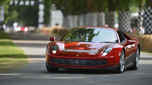 Ferrari SP12 EC at Goodwood Festival of Speed 12.7.2013