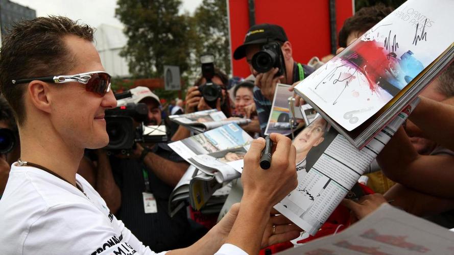 Schumacher wrote $1bn will in 2010 - report