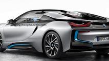 BMW i8 Spyder artist rendering