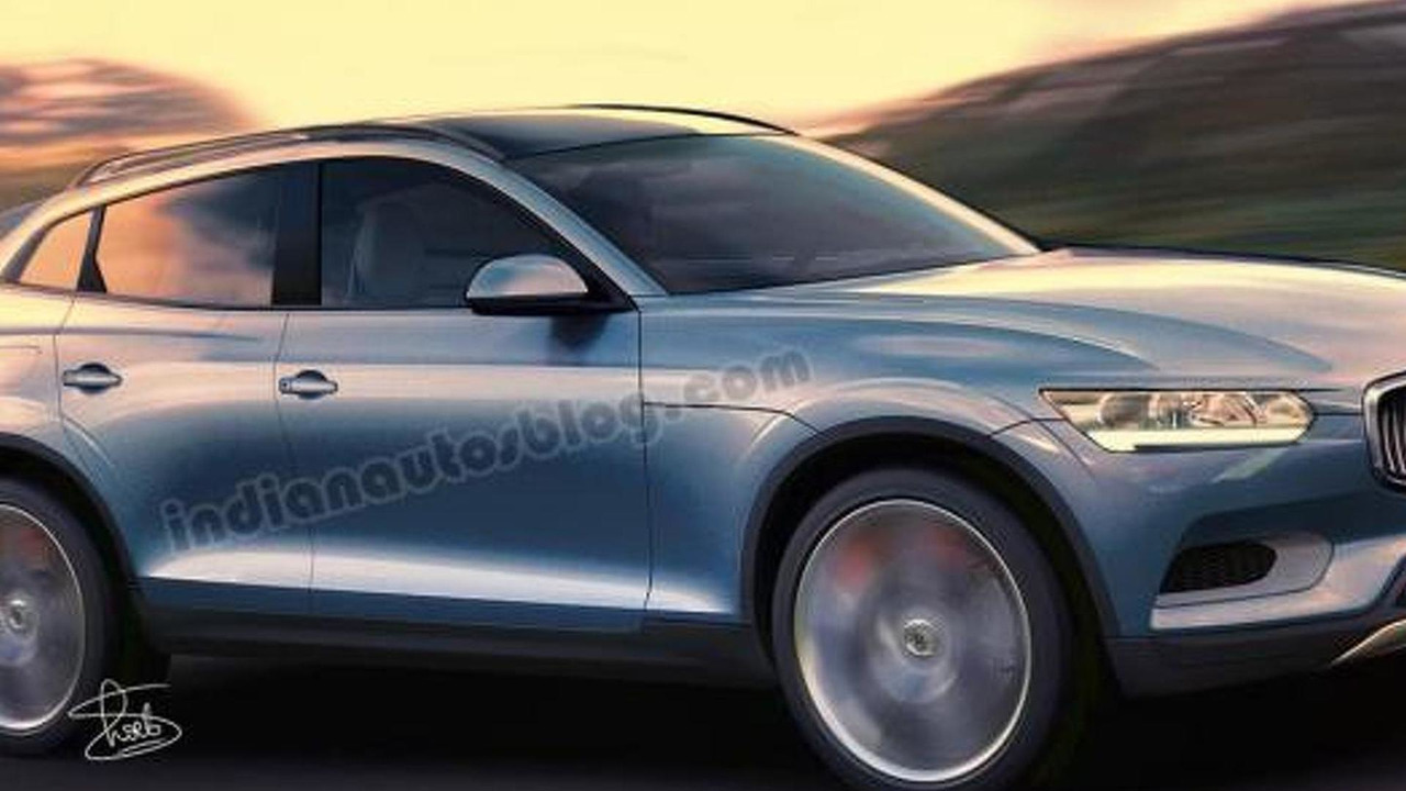 Volvo volvo coupe 2015 : 2015 Volvo XC90 rendered based on XC Coupe concept