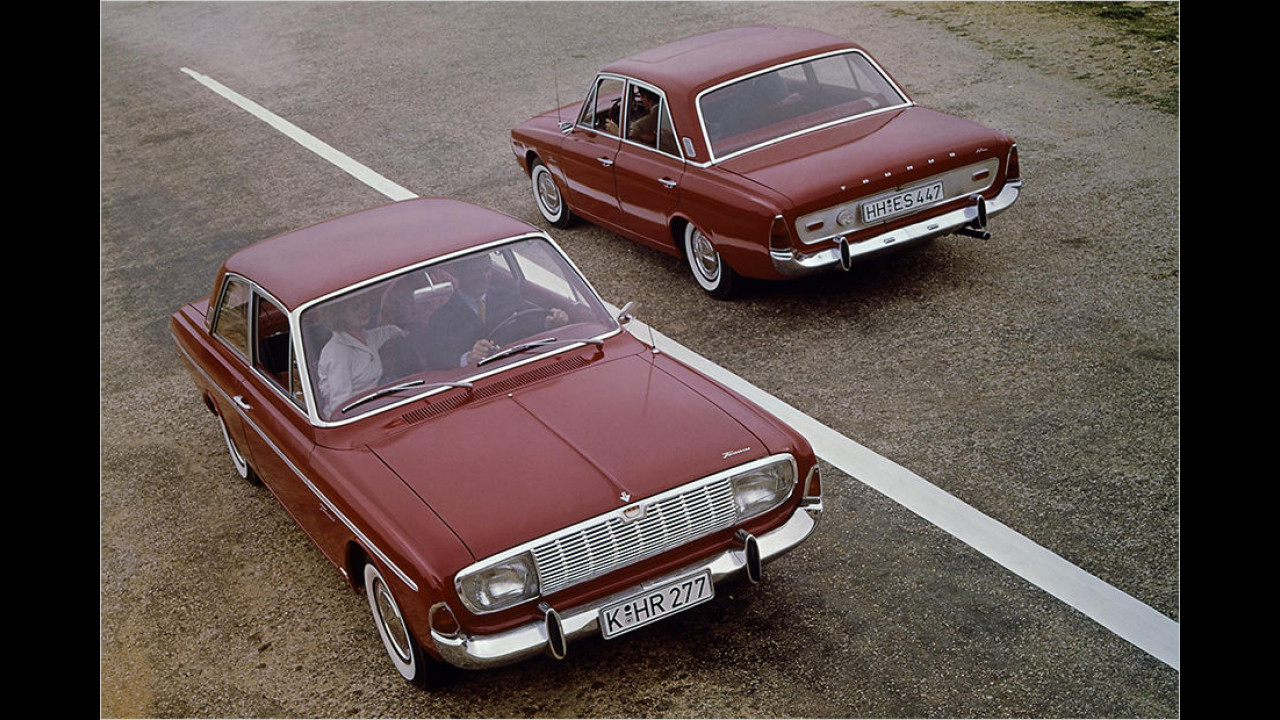 1964: Ford 17M/20M