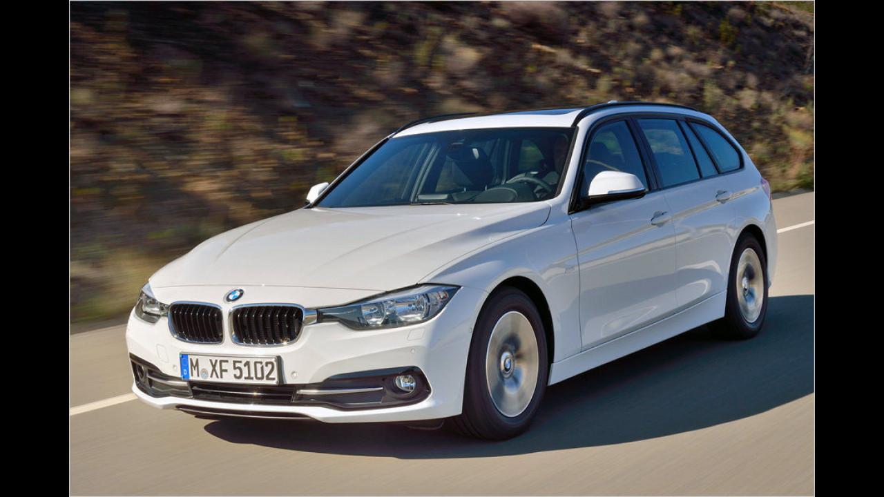 Platz 10: BMW 3er-Reihe, 4.175 Neuzulassungen