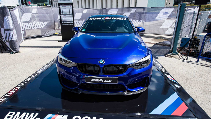 BMW M4 CS: el BMW M Award de MotoGP 2017