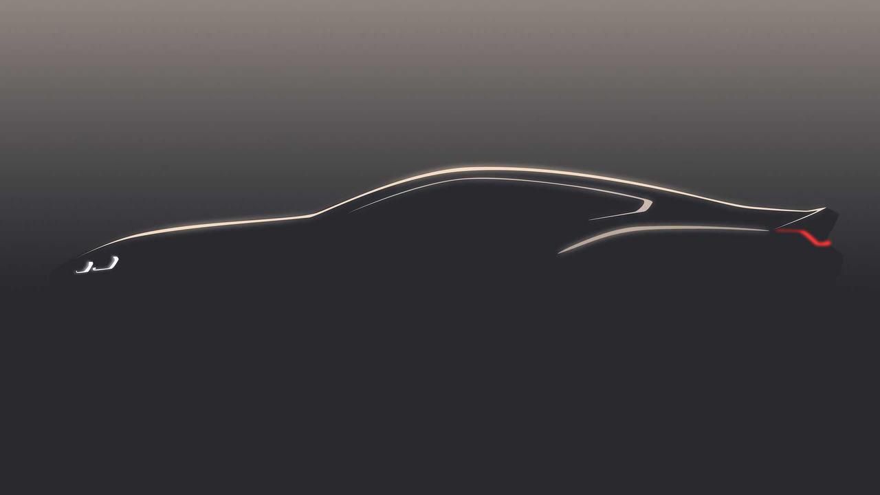 Teaser BMW Serie 8