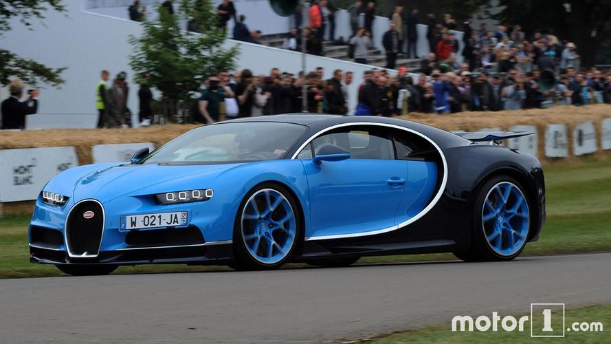 Goodwood 2017 - La Bugatti Chiron en action !