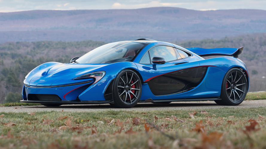 McLaren P1 sells for $2.39M at auction, the most expensive ever