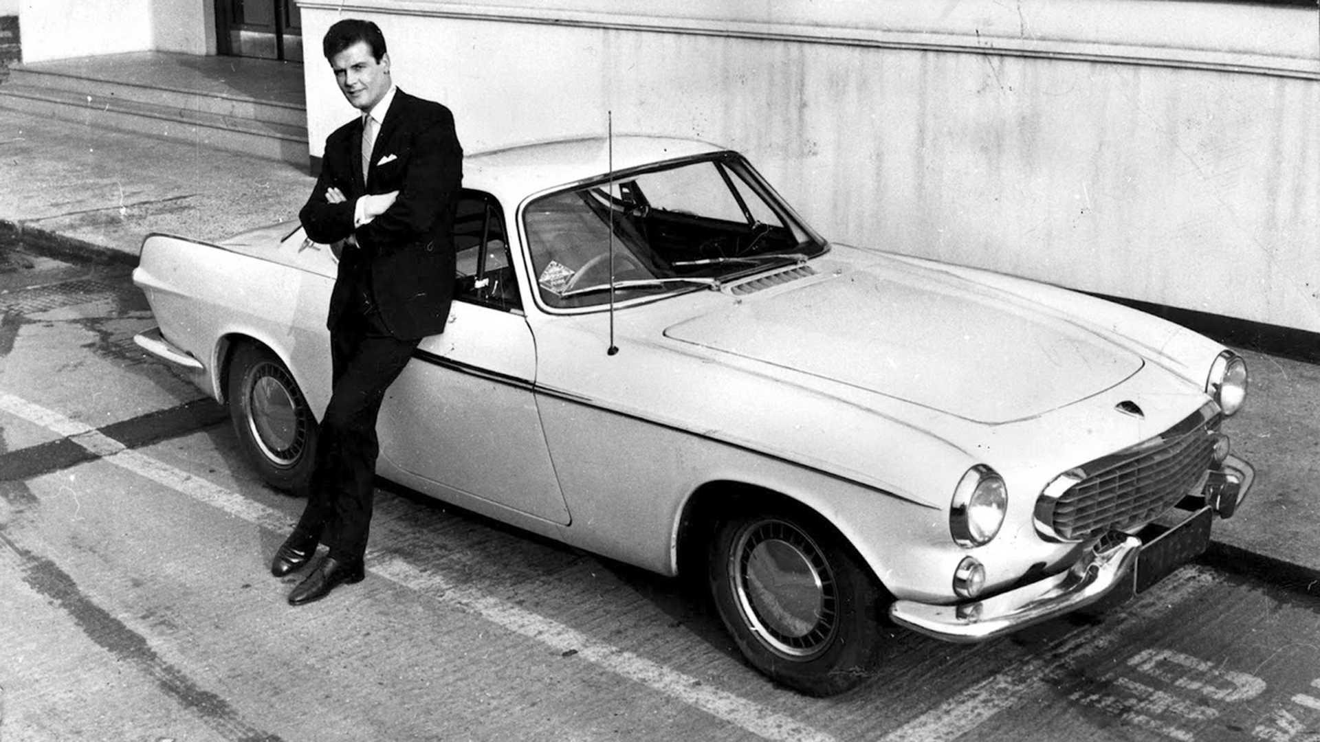 Roger Moore The Saint >> PHOTOS - Les voitures emblématiques de Roger Moore
