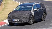 Hyundai Santa Fe Nürburgring casus fotoğrafları