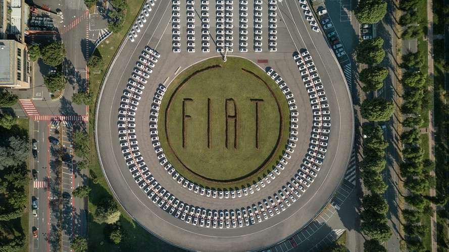 FCA Delivers 1,495 Fiat 500s In 48 Hours For New Guinness Record