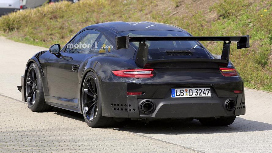 700-hp Porsche 911 GT2 Spied Flaunting Huge Exhaust Tips