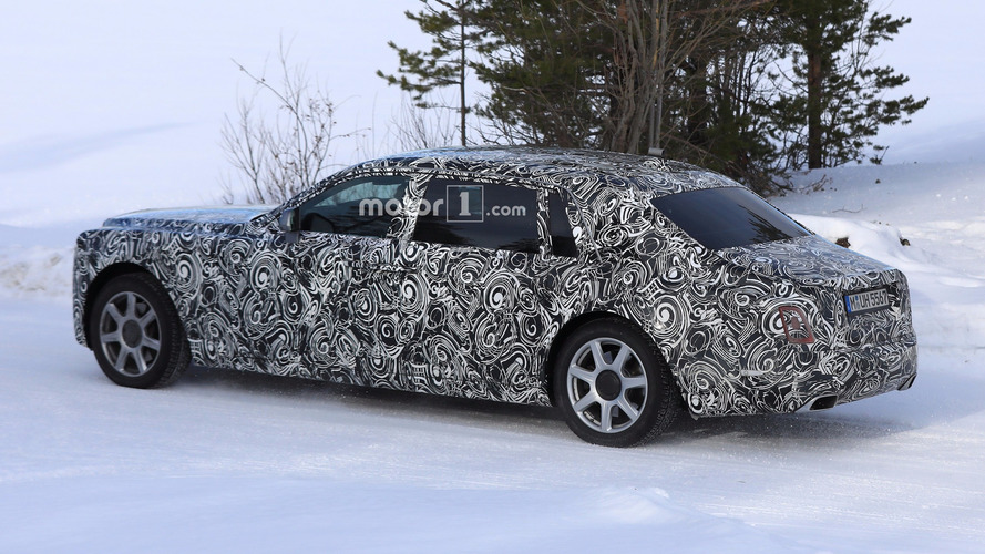 2018 Rolls-Royce Phantom Extended Wheelbase spy photo