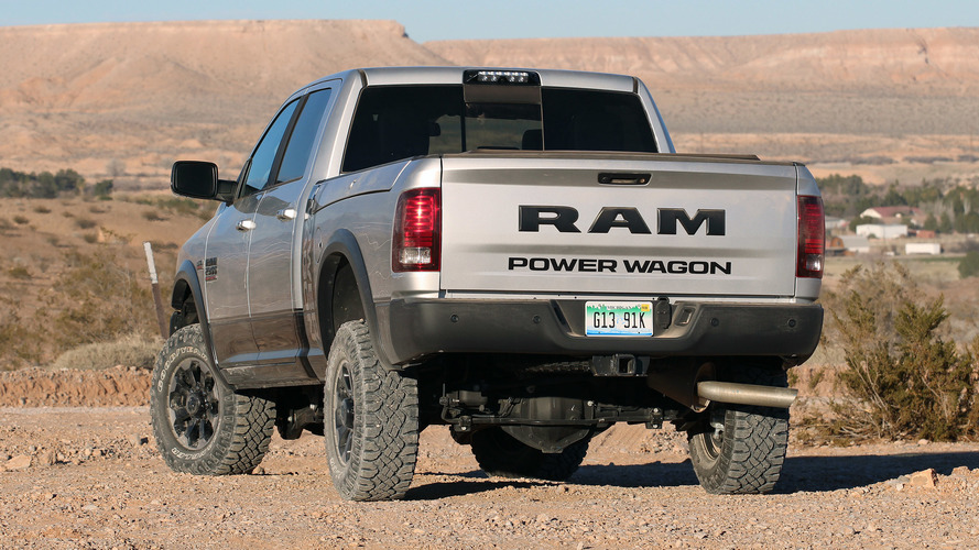 2017 ram 2500 power wagon first drive photo. Black Bedroom Furniture Sets. Home Design Ideas