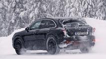 2018 Porsche Cayenne casus fotoğrafları