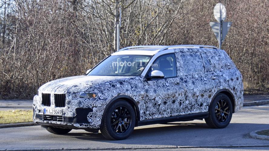 Le concept de BMW X7 avec un moteur à hydrogène ?