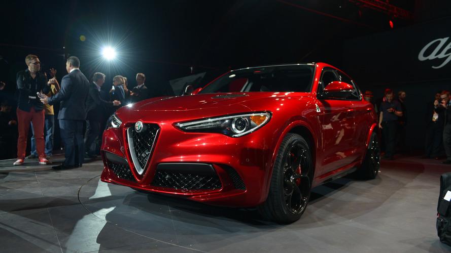 Alfa Romeo Stelvio em Los Angeles 2016