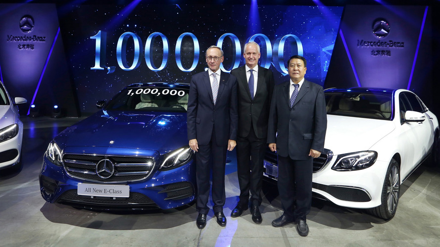 Mercedes builds one millionth car in China