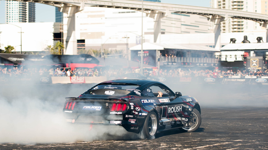 SEMA Show Gallery: Outdoor Silver Lot showcase of drifting, show cars and more