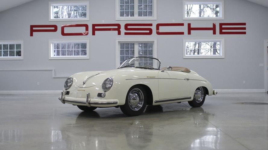 Une collection de 26 anciennes Porsche à vendre aux enchères