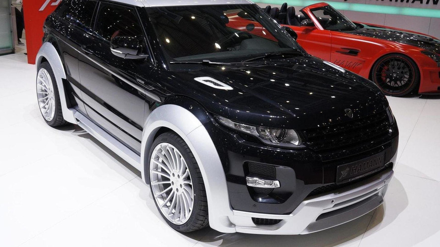 Hamann Evoque dressed for Geneva