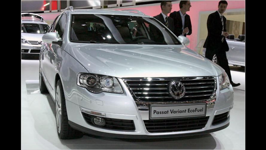 VW Passat TSI EcoFuel: Nachdrücklich umweltfreundlich