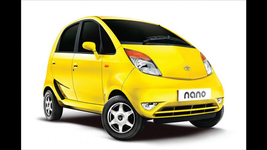 Hohe Erwartungen: Tata startet den Nano-Verkauf in Indien