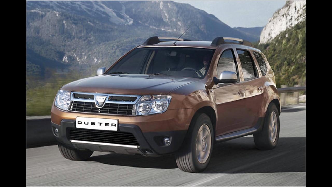 SUVs: Dacia Duster dCi 110 FAP Lauréate 4x4