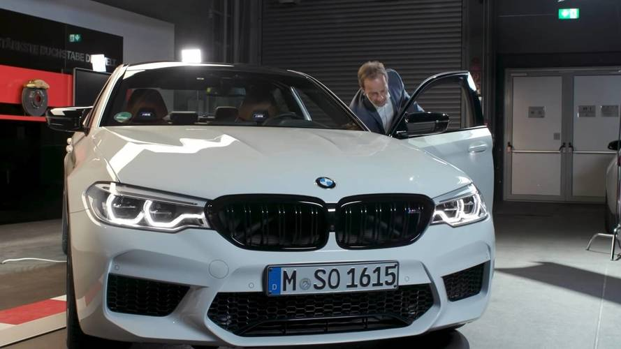 BMW Shows You What's So Great About The M5 Competition