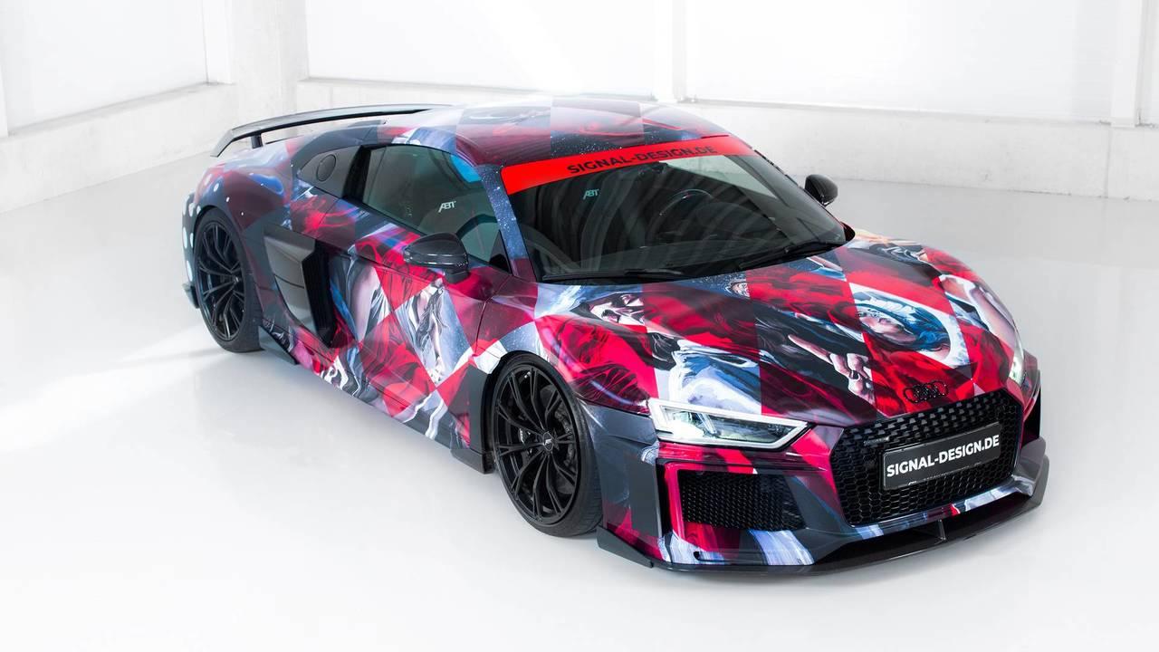 ABT Audi R8 Timo Wuerz Art Car