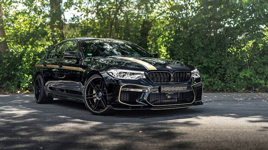 713-bhp BMW M5 by Manhart sounds as angry as it looks